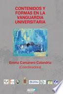 Libro de Contenidos Y Formas En La Vanguardia Universitaria