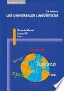 Libro de En Torno A Los Universales Lingüísticos