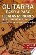 Libro de Escalas Menores   Guitarra Paso A Paso