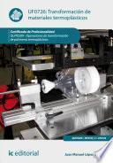 Libro de Transformación De Materiales Termoplásticos. Quit0209