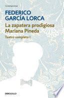 Libro de La Zapatera Prodigiosa | Mariana Pineda (teatro Completo 1)