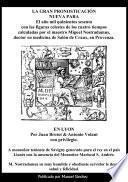 Libro de La Gran Pronosticacion Nueva Para 1560 De Nostradamus