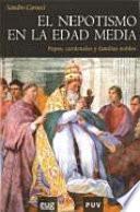Libro de El Nepotismo En La Edad Media