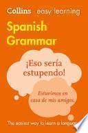 Libro de Easy Learning Spanish Grammar (collins Easy Learning Spanish)