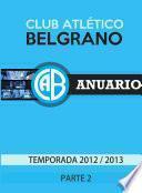 Libro de Anuario Belgrano Ii