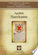 Libro de Apellido Sanvicente
