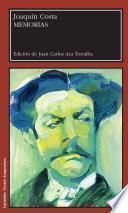 Libro de Memorias De Joaquín Costa