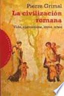 Libro de La Civilización Romana