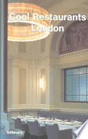 Libro de Cool Restaurants London