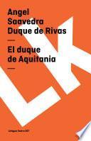 Libro de El Duque De Aquitania