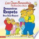 Libro de Berenstain Bears Show Some Respect