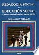Libro de Pedagogía Social, Educación Social