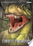 Libro de Temibles Dinosaurios