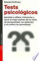 Libro de Tests Psicológicos