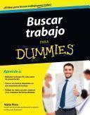 Libro de Buscar Trabajo Para Dummies
