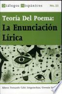 Libro de Teoría Del Poema