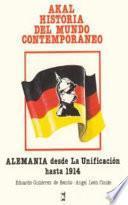 Libro de Alemania Desde La Unificación Hasta 1914