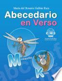 Libro de Abecedario En Verso, Libro Para Niños Y Niñas