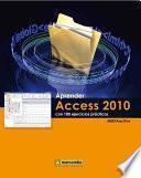 Libro de Aprender Access 2010 Con 100 Ejercicios Prácticos