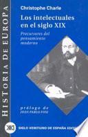 Libro de Los Intelectuales En El Siglo Xix