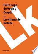 Libro de La Villana De Getafe