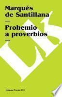 Libro de Prohemio A Proverbios