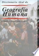 Libro de Diccionario Akal De Geografía Humana