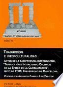 Libro de Traducción E Interculturalidad