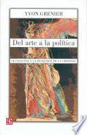 Libro de Del Arte A La Política