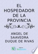 Libro de El Hospedador De La Provincia