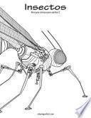 Libro de Insectos Libro Para Colorear Para Adultos 2