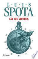 Libro de Lo De Antes (2013)