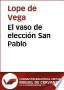 Libro de El Vaso De Elección San Pablo