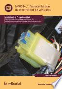 Libro de Técnicas Básicas De Electricidad De Vehículos. Tmvg0109