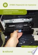 Libro de Reparación De Impresoras. Ifct0309