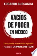 Libro de Vacíos De Poder En México