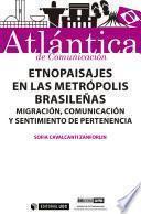Libro de Etnopaisajes En Las Metrópolis Brasileñas