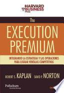 Libro de The Execution Premium