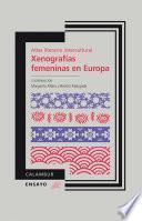 Libro de Atlas Literario Intercultural. Xenografías Femeninas En Europa