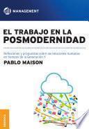 Libro de Trabajo En La Posmodernidad, El