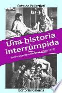 Libro de Una Historia Interrumpida