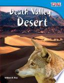 Libro de El Desierto Del Valle De La Muerte (death Valley Desert)