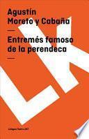 Libro de Entremés Famoso De La Perendeca