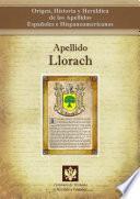 Libro de Apellido Llorach