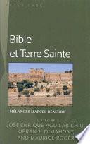 Libro de Bible Et Terre Sainte