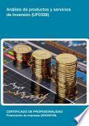 Libro de Uf0338   Análisis De Productos Y Servicios De Inversión