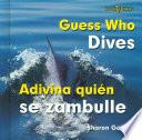 Libro de Guess Who Dives/adivina Quien Se Zambulle