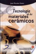 Libro de Tecnología De Los Materiales Cerámicos