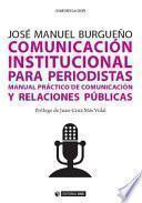 Libro de Comunicación Institucional Para Periodistas