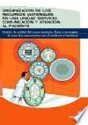 Libro de Organización De Los Recursos Materiales En Una Unidad/servicio. Comunicación Y Atención Al Paciente